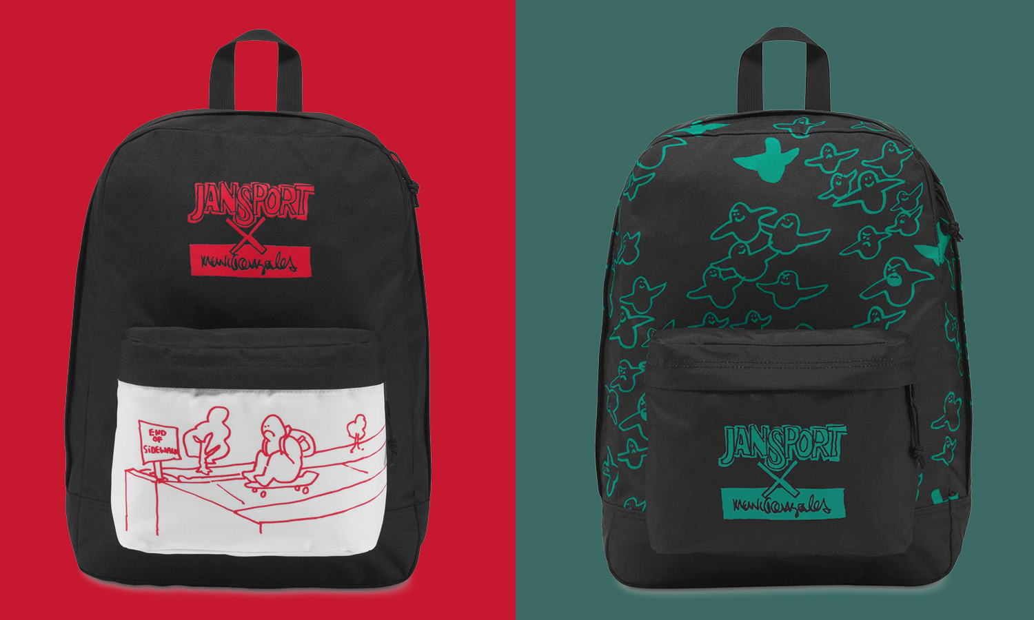 夏バッグの決定版! JAN SPORT×MARK GONZALES -COLLABORATION BAG-