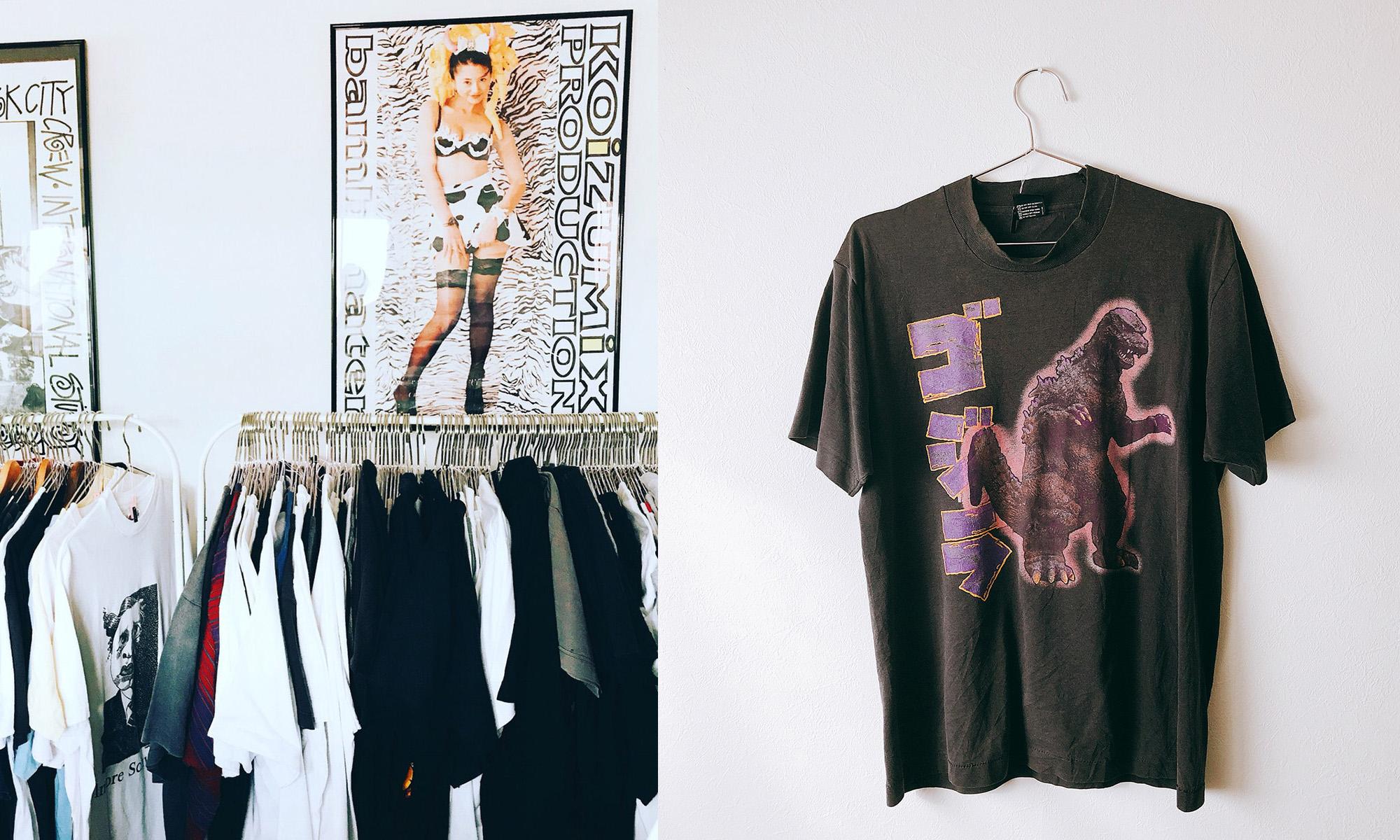 ANYTEE × JOURNAL STANDARD -ヴィンテージ古着を扱うポップアップショップGEEK TEE LAB-