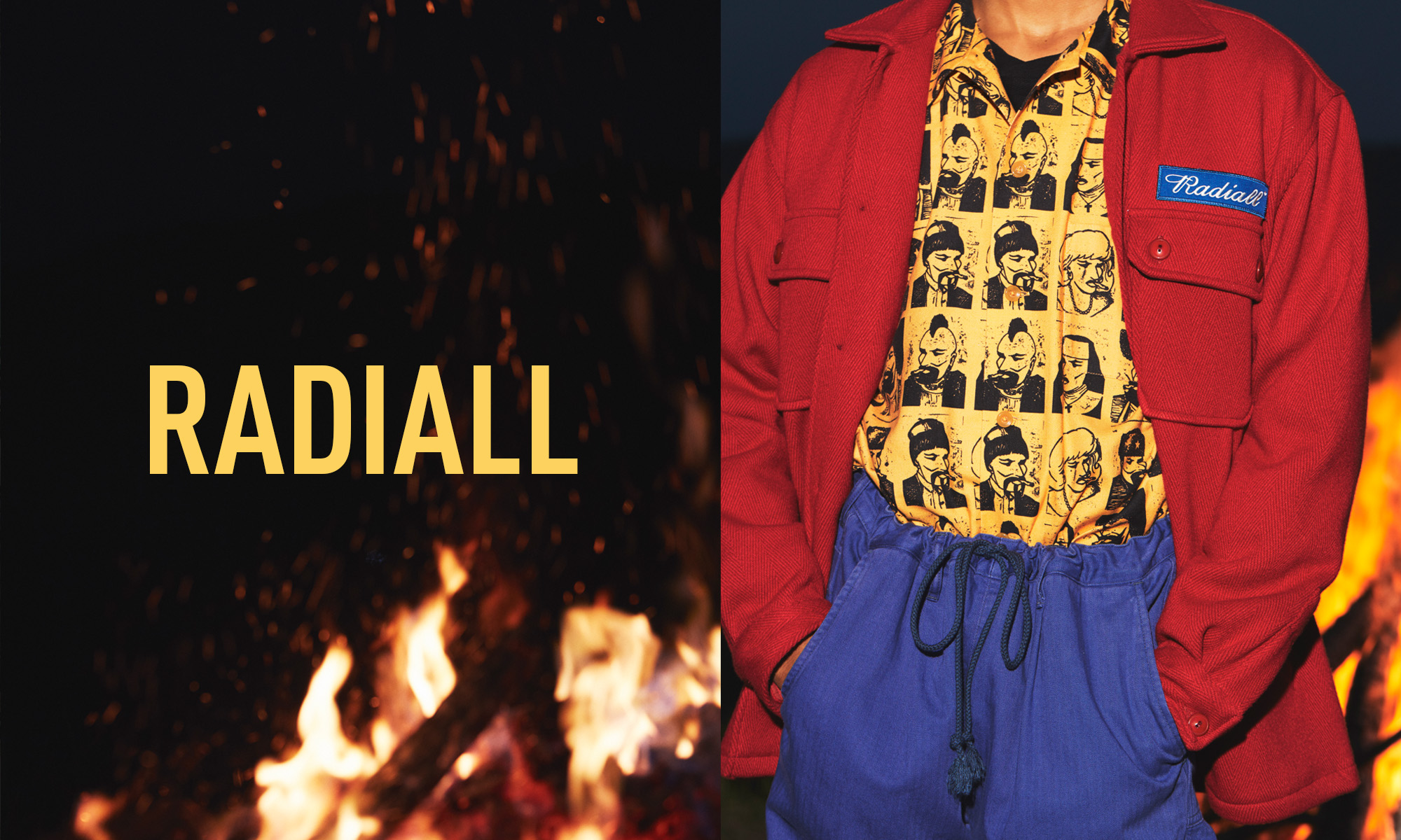 RADIALL -2018AW LOOK 1st-