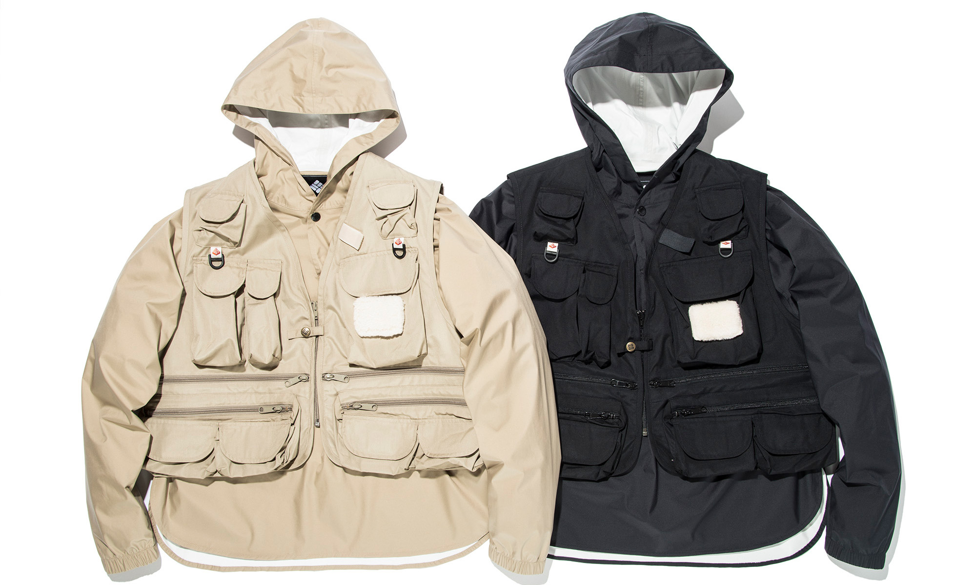 一石二鳥のコラボアウター誕生 COLUMBIA BLACK LABEL × MOUNTAIN RESEARCH -HENRYS POINT™ VEST-