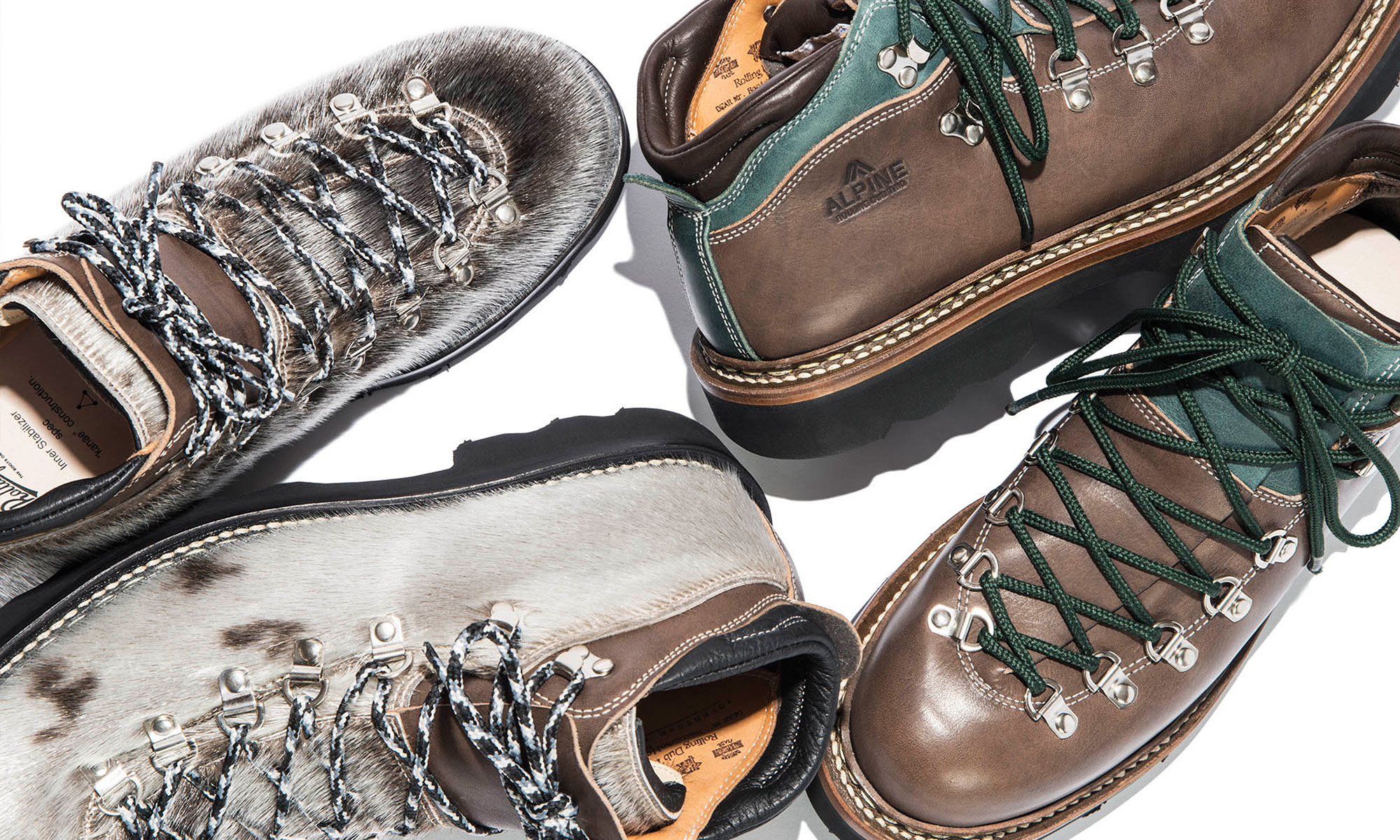 "ROLLING DUB TRIO -MOUTAIN BOOTS ""ADVENTURE LIGHT""-"