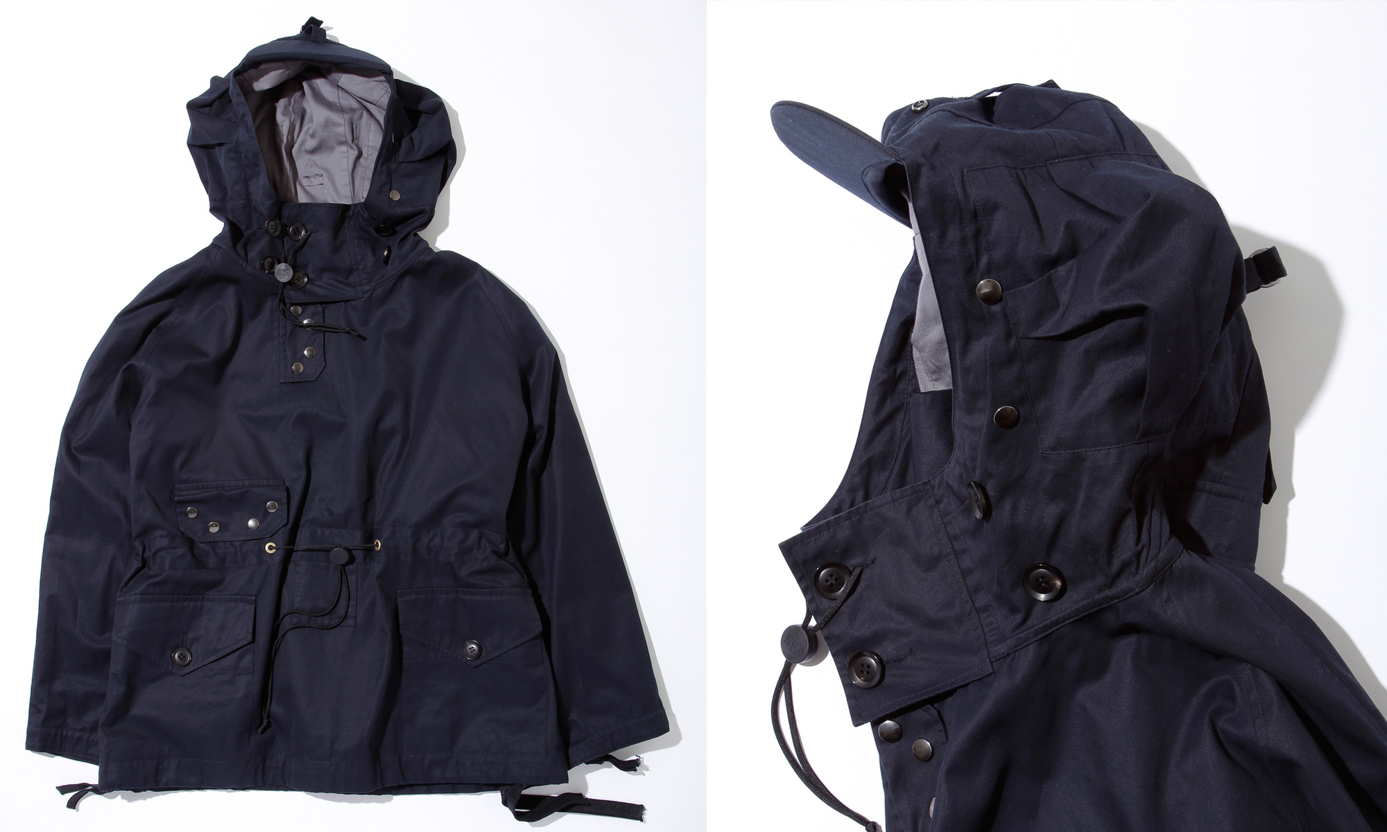 英国海軍の気骨を込めたファッションギア ROYAL NAVY -Smock Parka-
