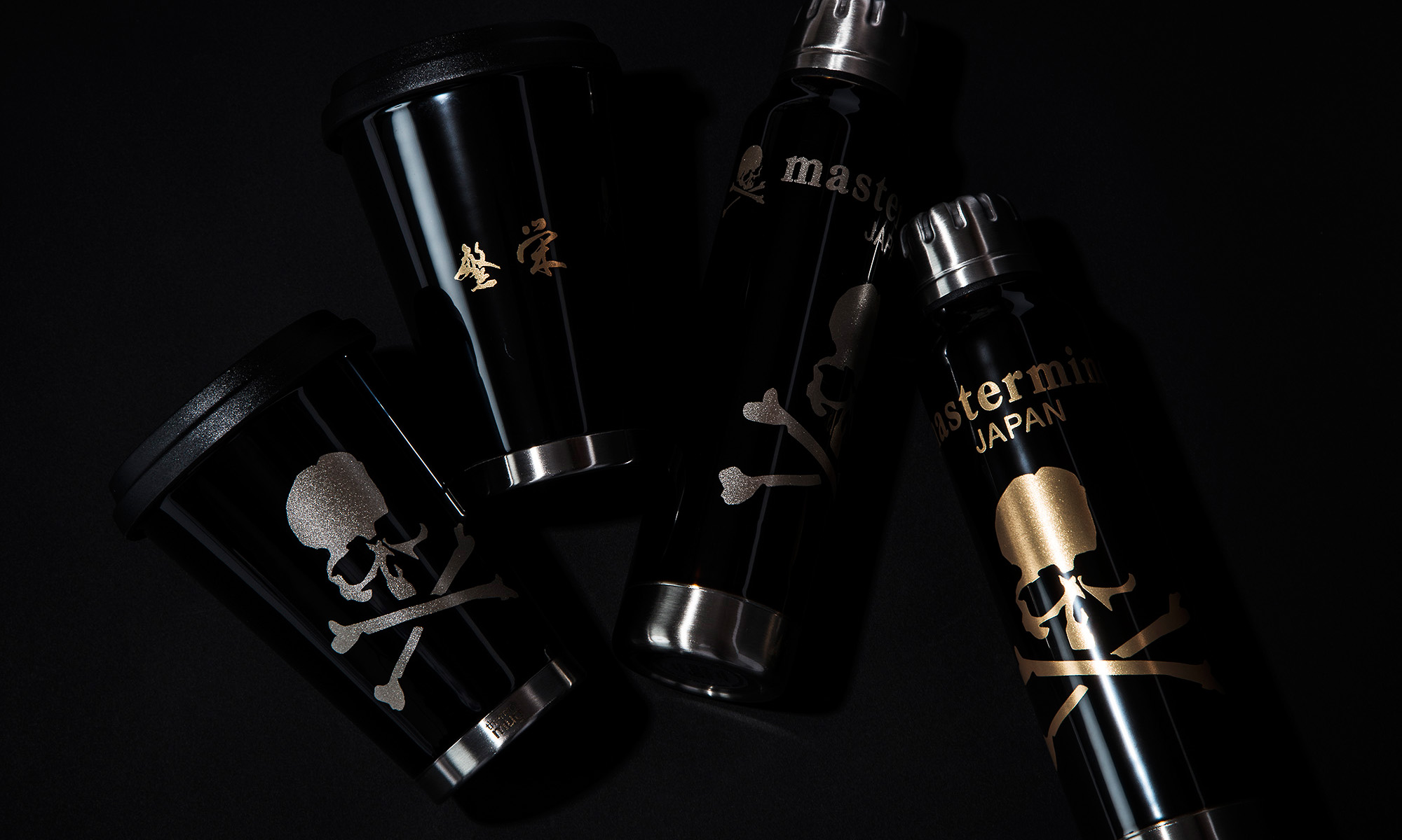 常に憧れのスカルを持ち歩け! mastermind JAPAN × thermo mug -Tumbler & Umbrella Bottle-
