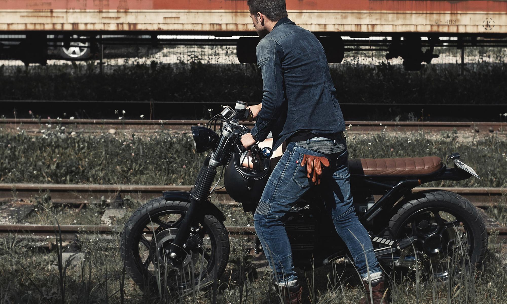 ヨーロッパデザインがバイカーを都会的に! PANDO MOTO -RIDING WEAR-