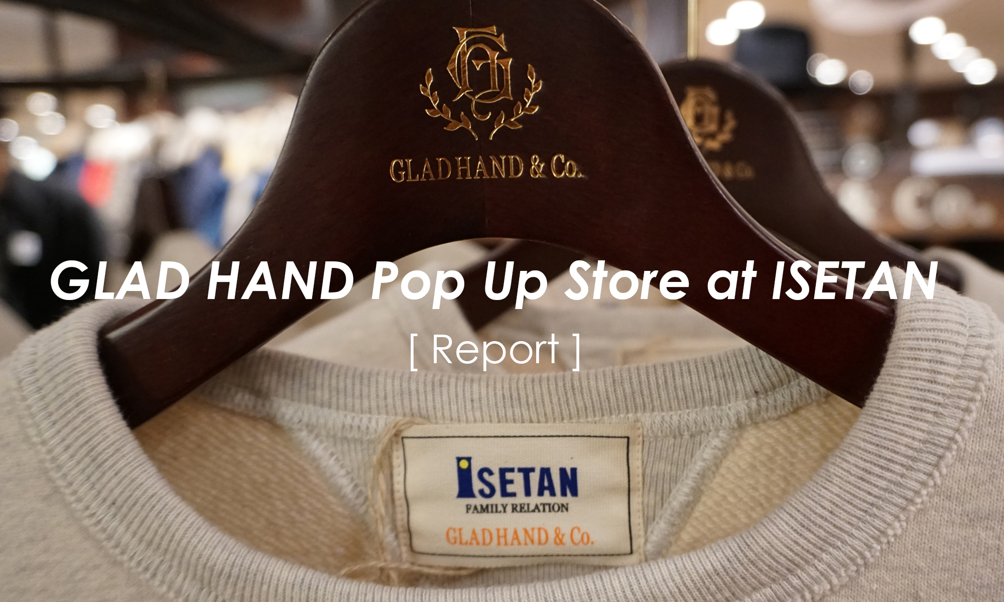 GLAD HAND -Christmas at ISETAN-