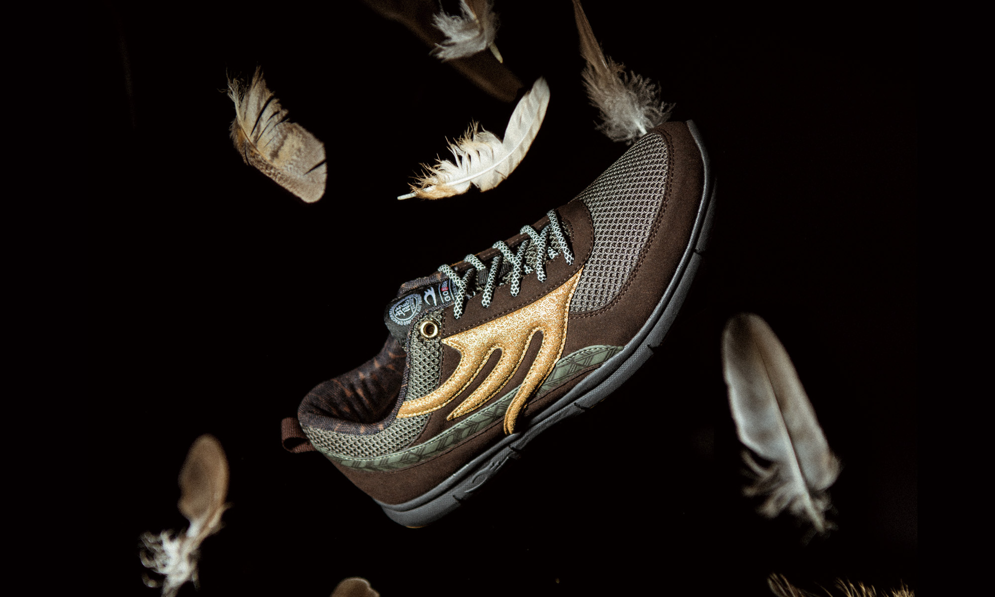 DRAGON BEARD -[ROOTS]HAWK SNEAKER-