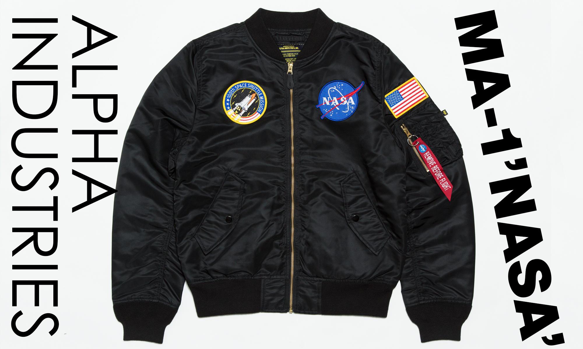 スペースシャトルを記念した宇宙的大傑作 「ALPHA INDUSTRIES」 -NASA FLIGHT JACKET-