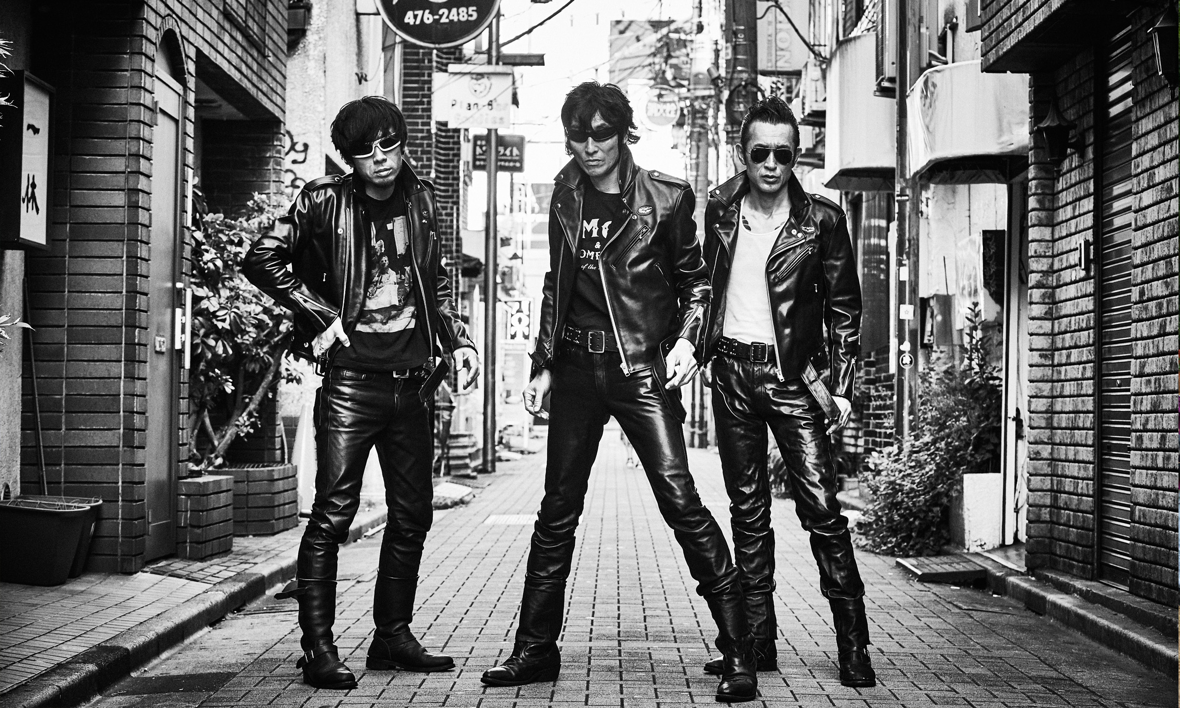 40年ぶりに新作ジャケットが誕生! GUITAR WOLF×Lewis Leathers -COLLABORATION JACKET-