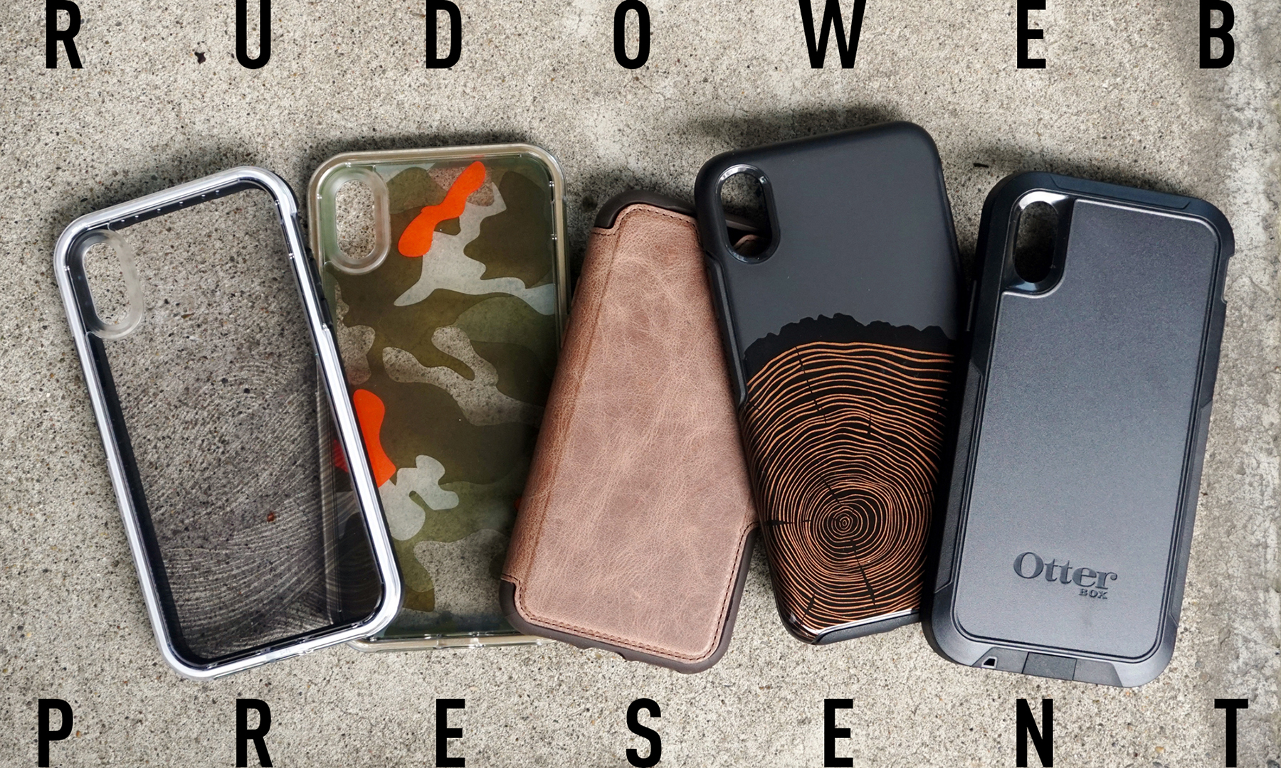【RUDO WEB PRESENT】各1名様にプレゼント アメリカが認めたタフなiPhoneケース「OtterBox & LIFEPROOF」