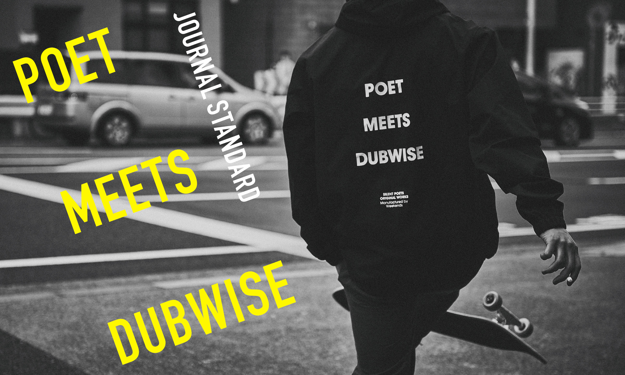 圧倒的なサウンドスケープを描くパイオニアがアパレルを発表! 「SILENT POETS」-POET MEETS DUBWISE-