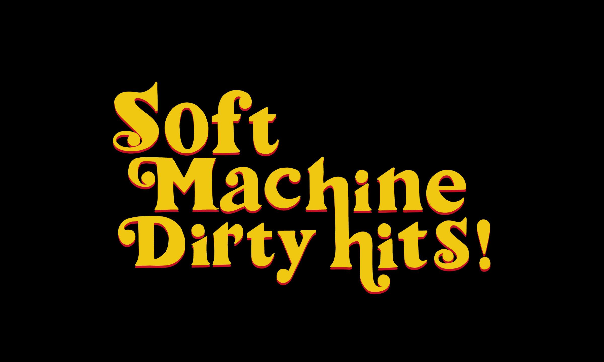 人気を集めたグラフィックTシャツを復刻! SOFTMACHINE -SOFTMACHINE DIRTY HITS-