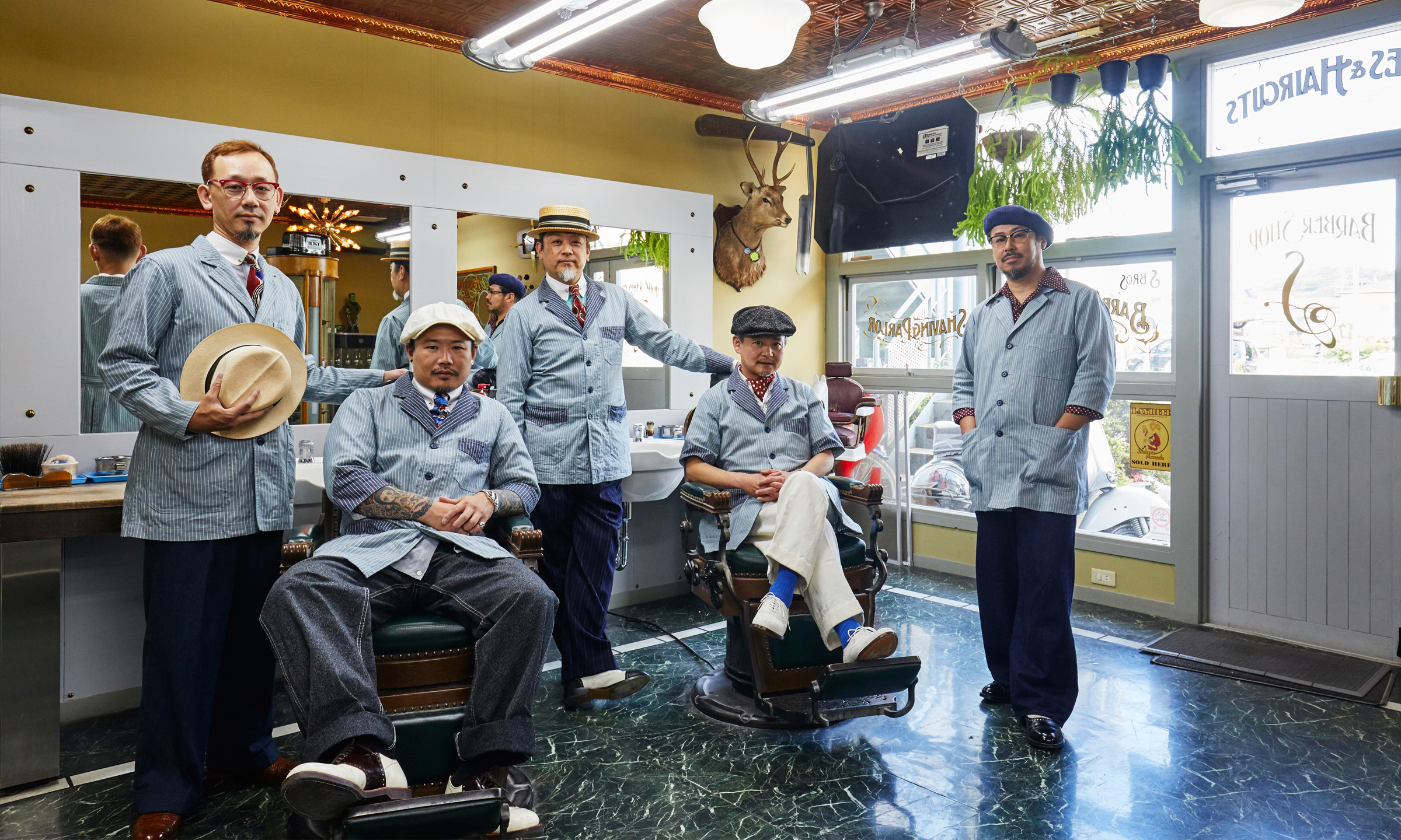 "East Japan Barber GHQ KANAGAWA -バーバーブームに収まらない本気の""床屋""集団-"