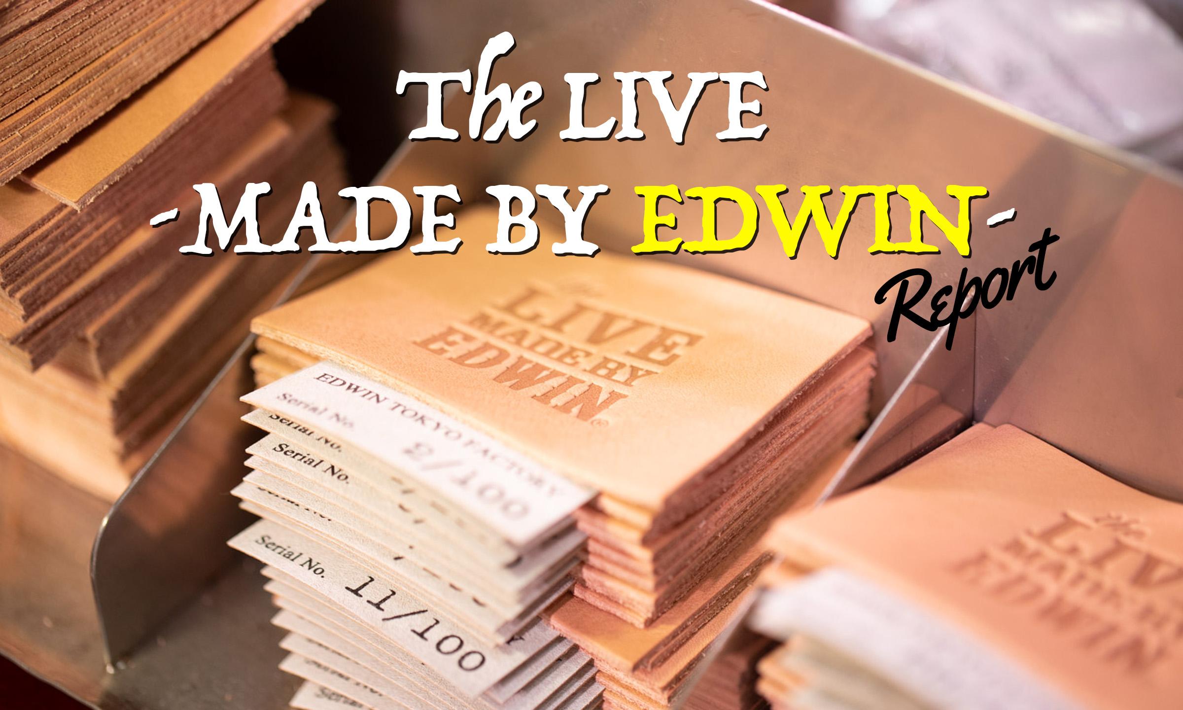 夏の最後を飾ったデニムの祭典「The LIVE -MADE BY EDWIN-」Report