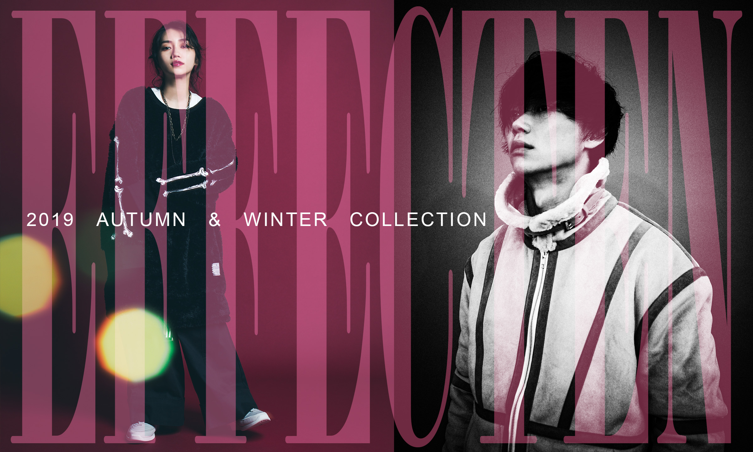 EFFECTEN -2019 AUTUMN & WINTER COLLECTION-
