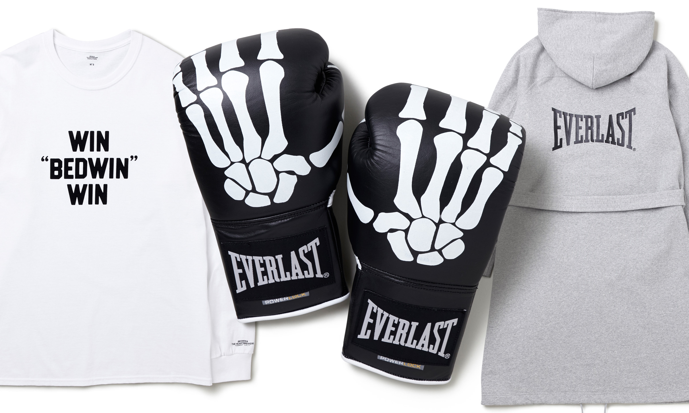 "BEDWIN & THE HEARTBREAKERS×EVERLAST -""ROCKY""COLLABORATION-"